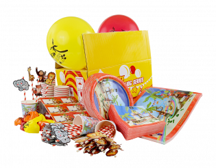 PARTY PACK TROPICAL BOWLING FESTIVAL (100 DELER)